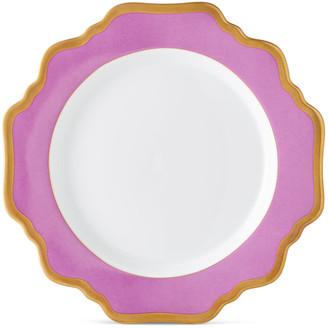 Anna Weatherley Purple Rimmed Salad Plate