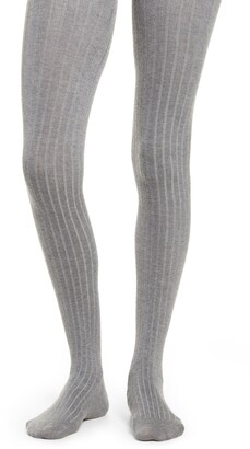 Natori Ribbed Sweater Tights