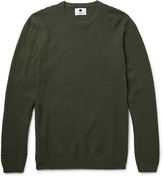 Nn07 - Albert Basketweave Cotton Sweater