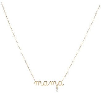 "PERSÉE Around the Words ""Mama"" necklace"
