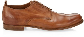 Officine Creative Mono Lace-Up Leather Dress Shoes