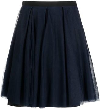 Christian Dior Pre-Owned Tulle-Layer Full Skirt