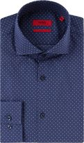 Hugo Jason Polka Dot Slim Shirt