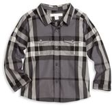 Burberry Baby's & Toddler Boy's Trent Check Cotton Shirt