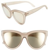 Le Specs Women's 'Liar Liar' 57Mm Sunglasses - Matte Stone