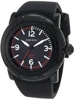 Glam Rock Women's GW25061 Florida Beach Black Dial Black Silicone Watch