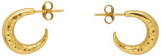 Dear Letterman Gold Malakyi Earrings