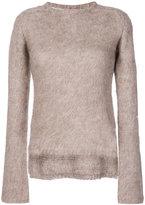Rick Owens knitted sweater - women - Polyamide/Mohair/Merino - S