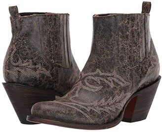 Lucchese Rogue (Anthracite Marble) Women's Boots