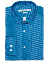 Perry Ellis Slim Fit Equal Sign Dress Shirt