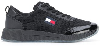 Tommy Jeans Flag patch low-top sneakers