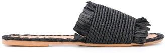 Manebi Slip-On Flat Sandals