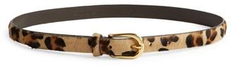 Andersons Leopard Print Slim Belt