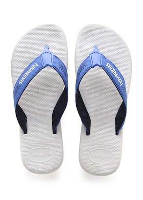 Havaianas Men's Surf Pro Flip Flop Sandal Steel Grey/Grey 8 M US