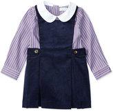 Ralph Lauren Girls' Striped Long-Sleeve Shirt & Jumper Set