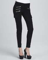 J Brand Jeans The Brix Zip-Pocket Skinny Jeans