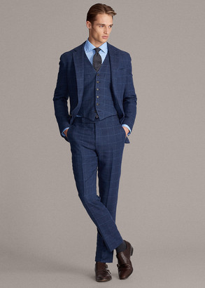 Ralph Lauren Windowpane Suit Trouser