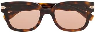 Hublot Eyewear tortoiseshell square-frame sunglasses