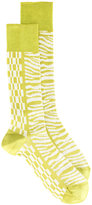 Haider Ackermann printed socks - men - Silk - M/L