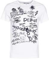 True Religion Print Tshirt White