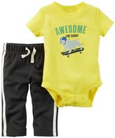 Carter's Baby Boy Dog Bodysuit & Pants Set