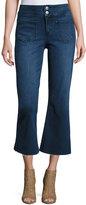 Tularosa Camilla Cropped Flare Jeans, Blue