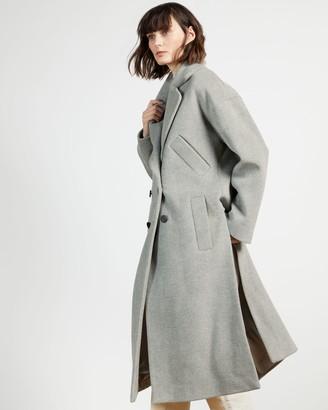 Ted Baker Wool Longline Coat
