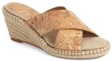 Johnston & Murphy Arlene Cross Band Wedge Sandal