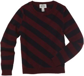 Autumn Cashmere Kids Diagonal Striped Sweater