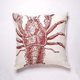 Lobster Linen Pillow