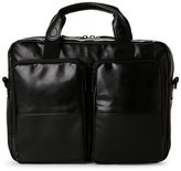 Ben Sherman Black Single-Gusset Portfolio Bag