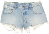 Albuquerque distressed denim shorts