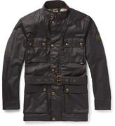 Belstaff Roadmaster Waxed-cotton Jacket - Brown