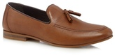 Red Herring Tan Tassel Loafers