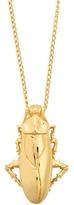 Balenciaga Cockroach-pendant necklace