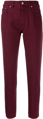 Golden Goose Cropped Straight Leg Jeans