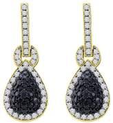 Katarina 14K White Gold 1 3/4 ct. and White Diamond Earrings