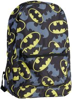 Bioworld Mens Batman Bat Symbol Backpack