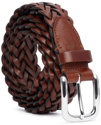 Dalgado Hand-Braided Leather Belt Cognac Renato