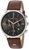Maurice Lacroix Men's EL1098-SS001-311-1 Eliros Analog Display Quartz Brown Watch