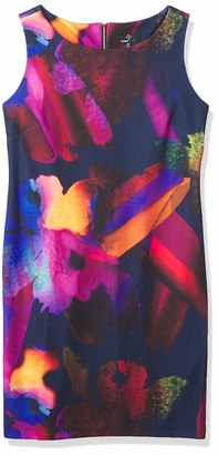 Ronni Nicole Women's Abstract Floral Shift