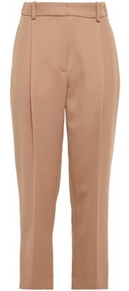 See by Chloe Cropped Twill Straight-leg Pants