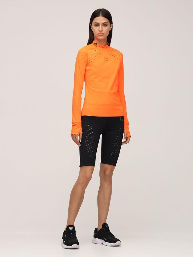 Thumbnail for your product : adidas by Stella McCartney Logo Tech Truepur T-shirt