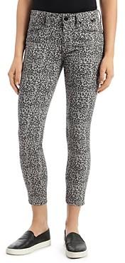 Mavi Jeans Tess Leo Cropped Skinny Jeans in Gray Leopard