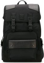 Belstaff buckle strap backpack