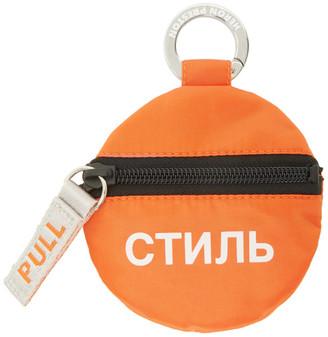 Heron Preston Orange Style Keychain