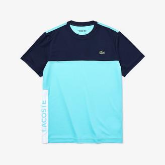 Lacoste Mens SPORT Colorblock Performance T-shirt