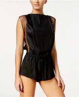 Calvin Klein Black Collection Temptation Silk Romper QS5495