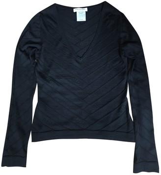 Christian Dior Black Wool Knitwear for Women Vintage