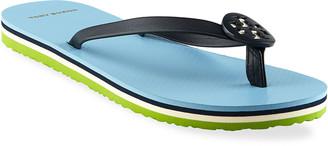 Tory Burch Minnie Medallion Flip-Flops